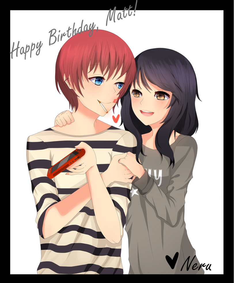 Happy Birthday, Matt! by Otromeru