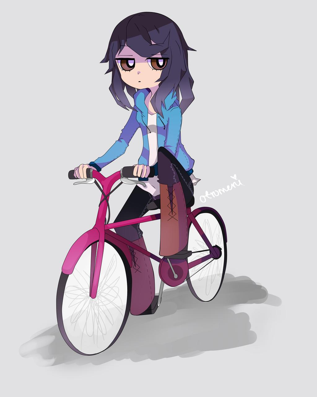 Pink Bicycle by Otromeru