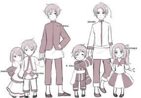 Asean siblings by Otromeru
