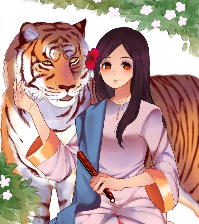 Harimau Malaya by Otromeru