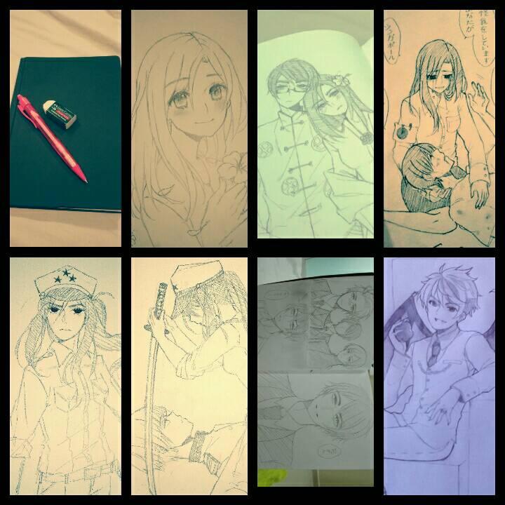 Sketch dump by Otromeru