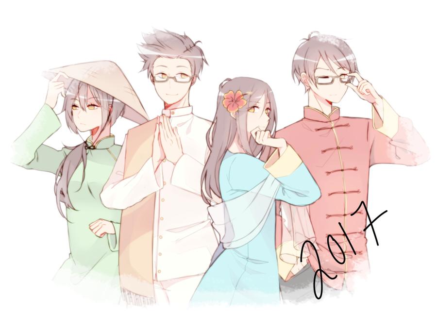 Happy New Year~! by Otromeru