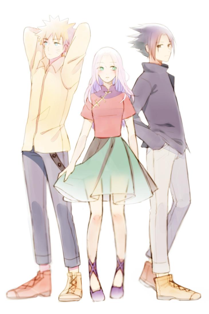 Naruto: Team 7! by Otromeru