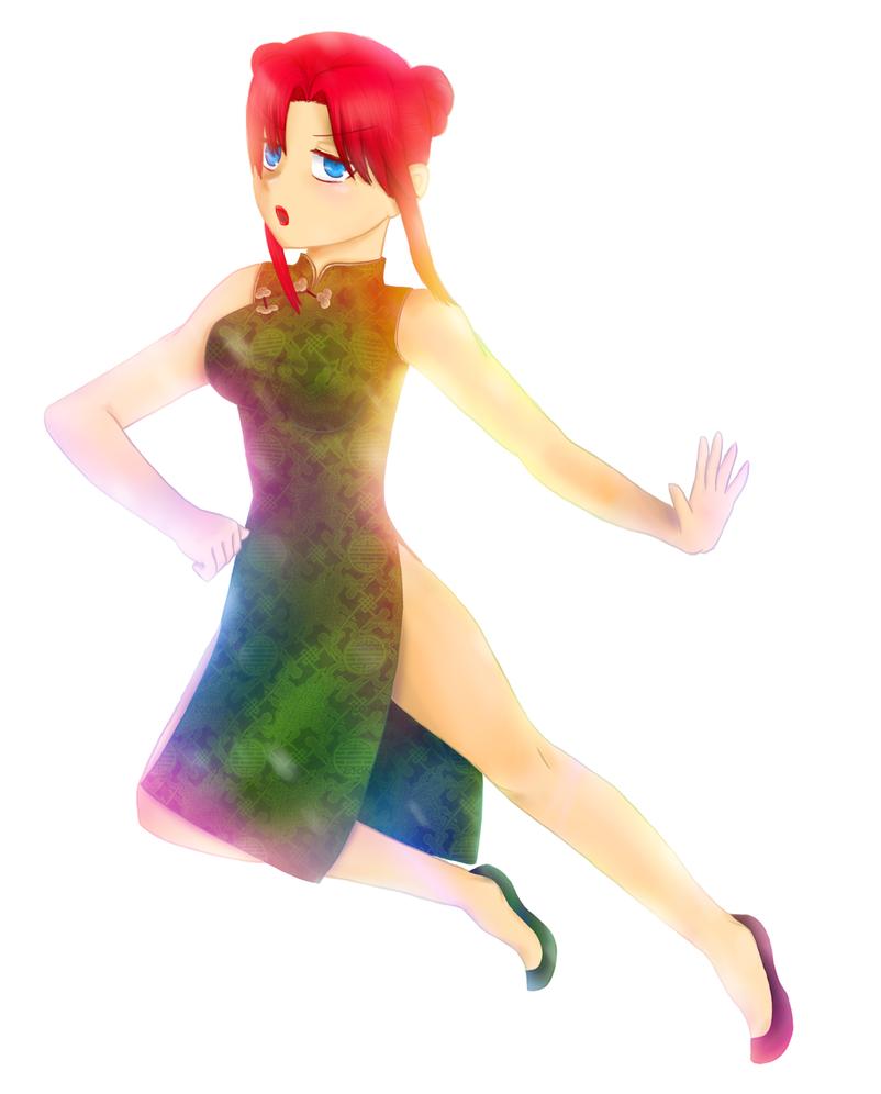 Rainbow Gatekeeper by MissHornet