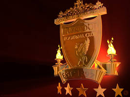 Liverpool Logo 3d by kitster29
