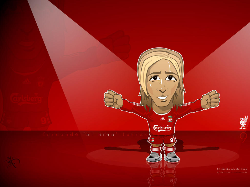 Liverpool Torres Caricature by kitster29