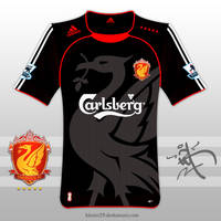 2009,10 Liverpool 2nd A Shirt by kitster29