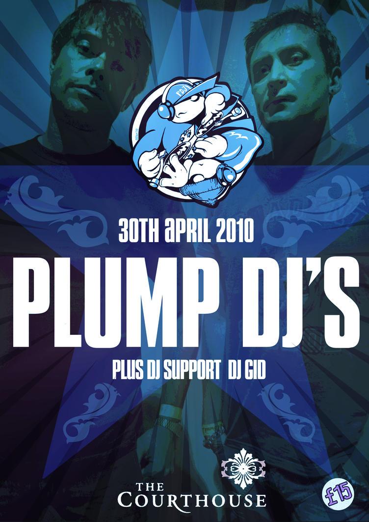 Plump DJs poster by kitster29