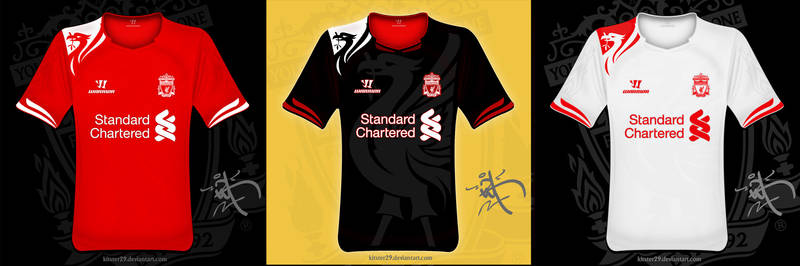 LFC Warrior 2012 Concept Shirt