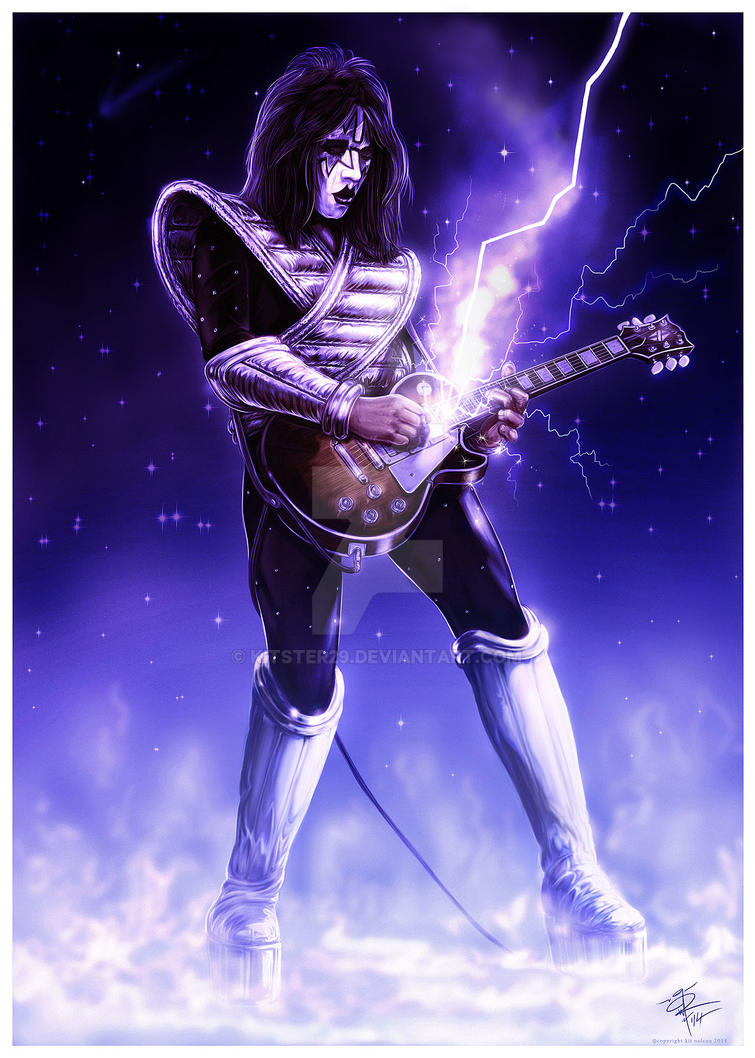Ace Frehley by kitster29