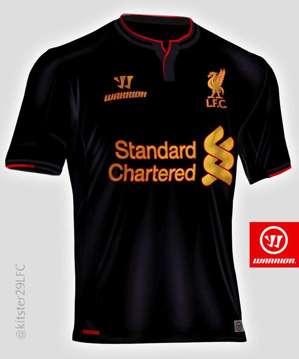 LFC 3rd Away 2014/15 gold/black alt concept shirt by kitster29