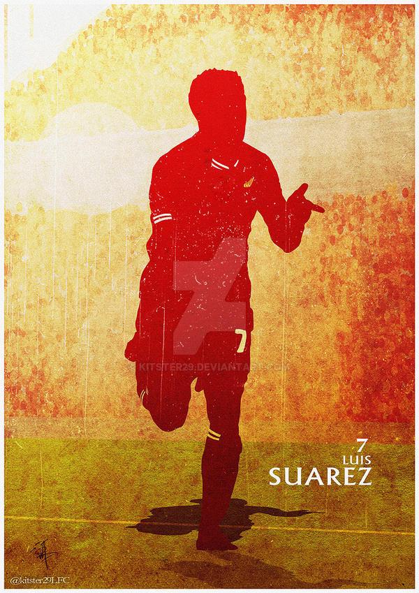 Luis Suarez by kitster29