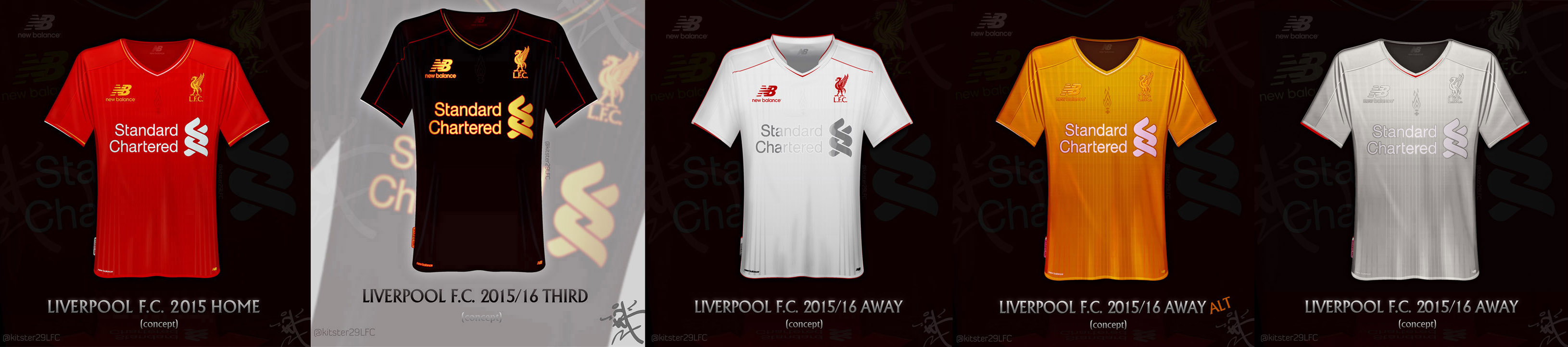 buy online 514ac c9f82 Liverpool FC Concept shirts 2015/16 season NB by kitster29 ...