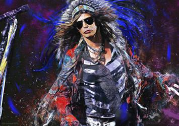 Steven Tyler  - Aerosmith - Painting
