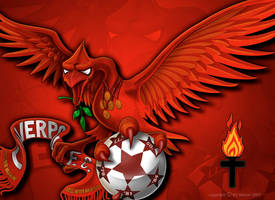 Liverpool FC Kop Banner by kitster29