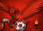 Liverpool FC Kop Banner
