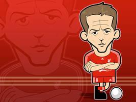 Steven Gerrard Wallpaper by kitster29