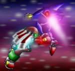 Metal Sonic vs. Metal Knuckles