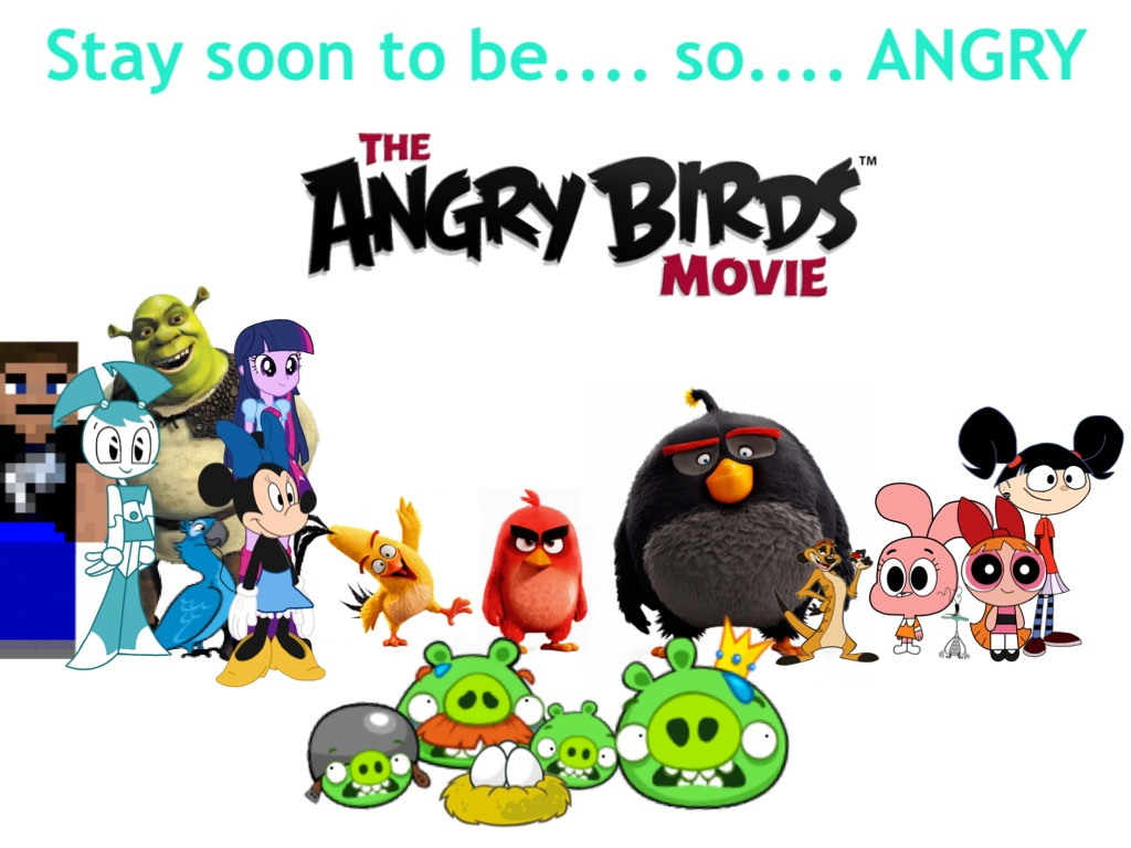 Angry Birds Movie Characters: The Angry Birds Movie New Poster (Fan Made) By