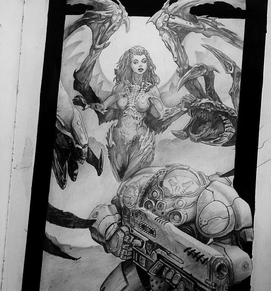 Starcraft by Jigz-zaw
