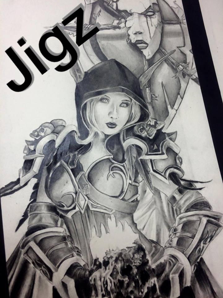 Sylvanas, Queen of the Horde by Jigz-zaw