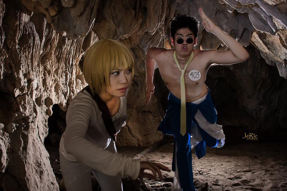 The First Phase! Leorio and Kurapika! by ThePracticalFist