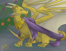 Daily Dragon Request: Gyzel: day 345 by Lake-Lake