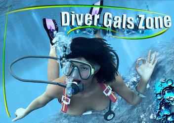 Divers Gals Zone Poster by samblaik