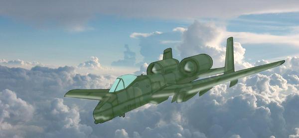 A-10 Warthog by Aeoline