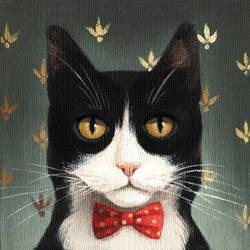 Tuxedo by foxyandpaper