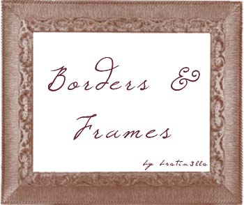 Frames by bratin3lla