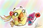 .:Cheerful friends:.