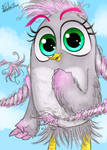 Silver from the Angry Birds movie 2