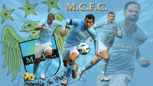 Manchester City Wallpaper by cozzie333