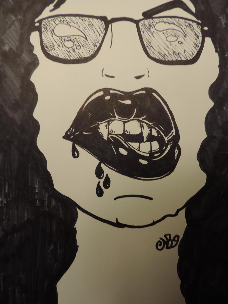 Lips by Dozeraia
