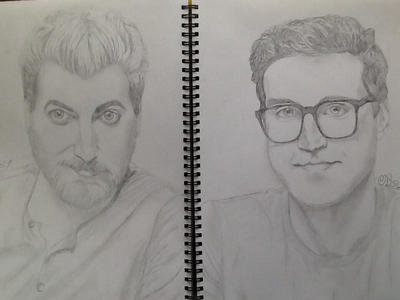 Rhett and Link by Dozeraia