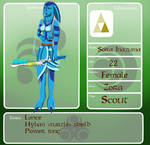 Sora Inazume (female) app - Fall of Hyrule -