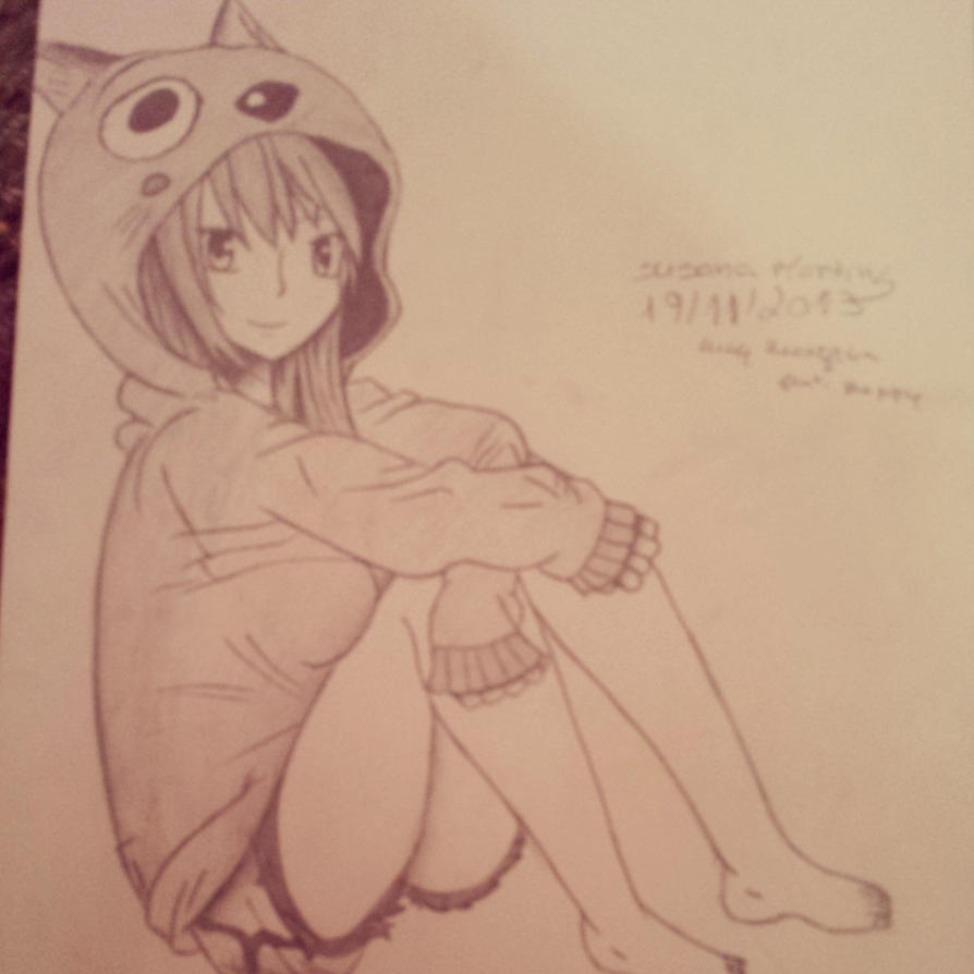 Galeria da Yuka  Lucy_heartfilia_draw_by_yukashooter-d6zeerk