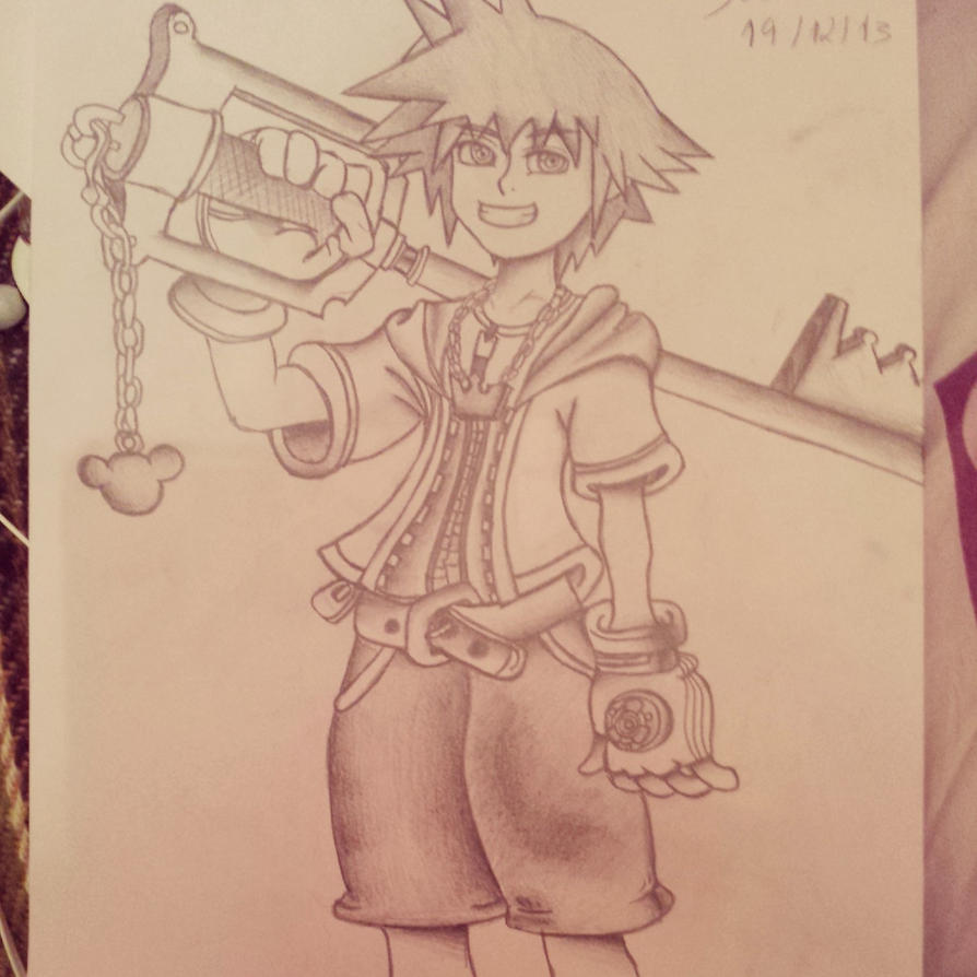 Galeria da Yuka  Kingdom_hearts___sora__draw_by_yukashooter-d6zef05
