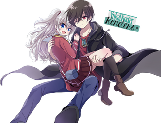 Tomori Nao and Otosaka Yuu Render