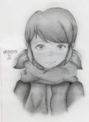 Marinette Dupain-Cheng Drawing