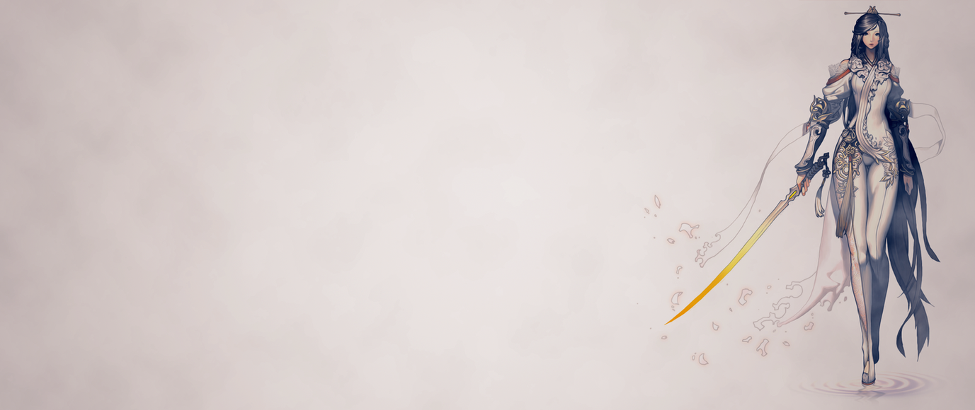Blade And Soul Jiwan Wallpaper 2560x1080 By Evilhamsterzzz