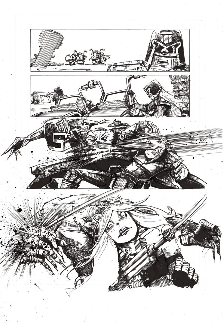 Mega City 2 Page 2 by noliverlowdy