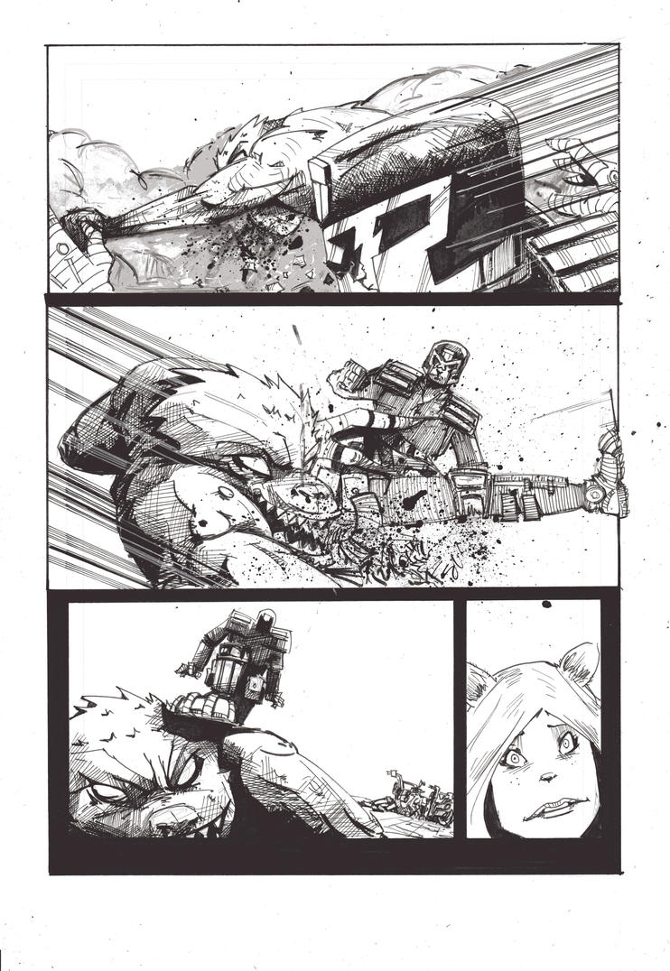 Mega City 2 Page 3 by noliverlowdy