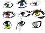 Anime eyes #3