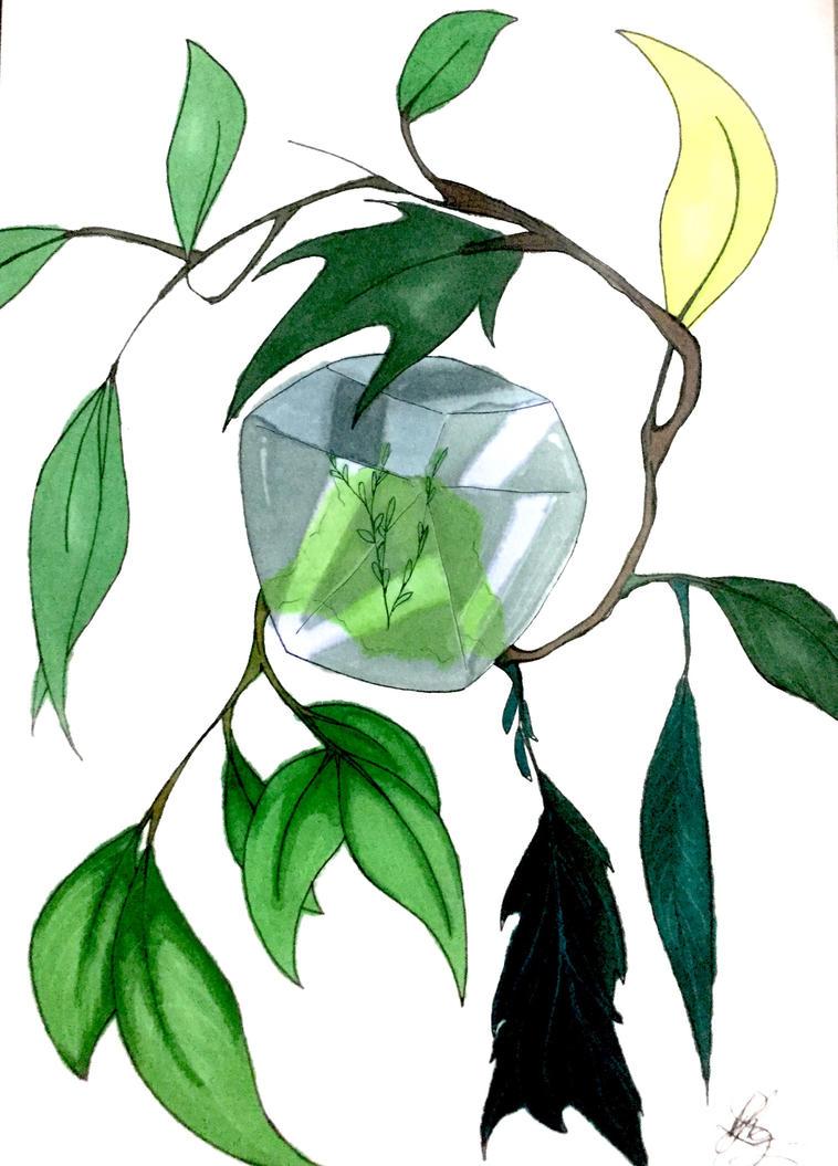 Crystal of life by MaryMythos