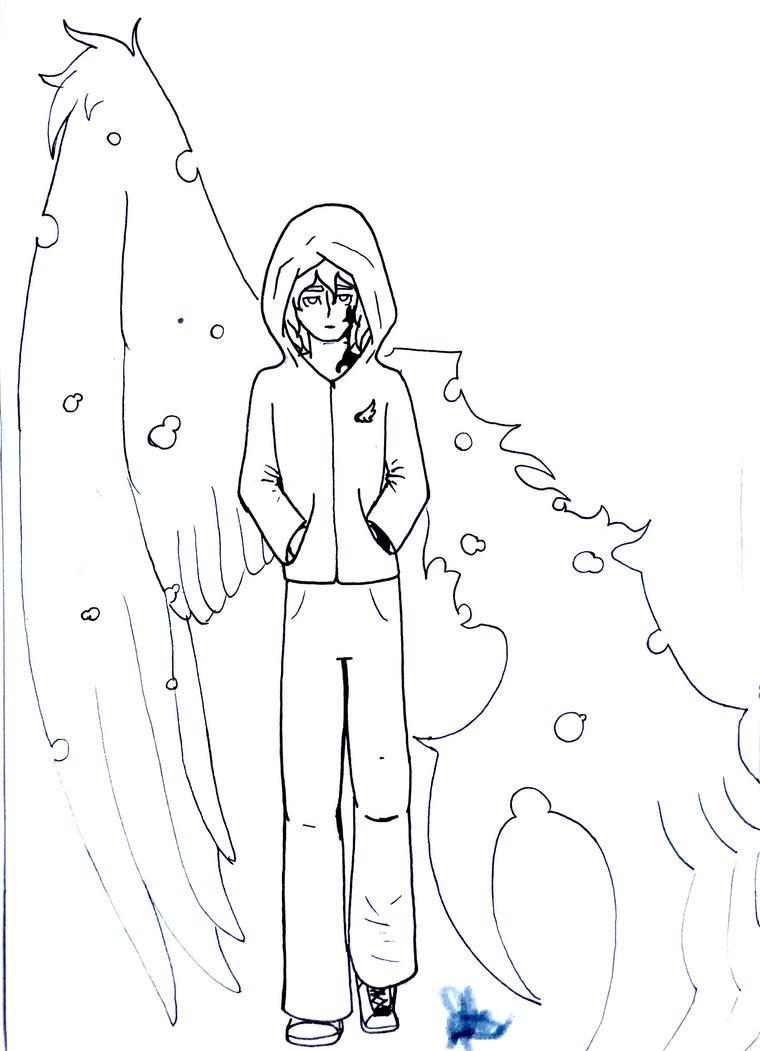 Cursed angel by MaryMythos
