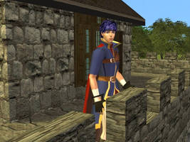 Fire Emblem Ike Sims 2 by Prince-Stephen