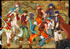 Wallpaper Fire Emblem by Prince-Stephen