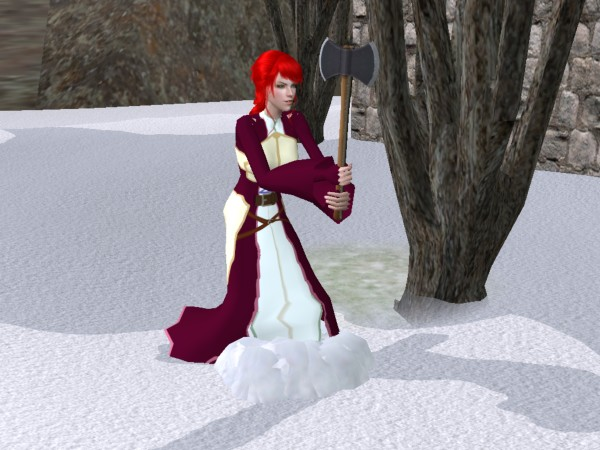 Titania Fire Emblem Sims by Prince-Stephen